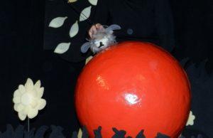le bourdon sur sa pomme